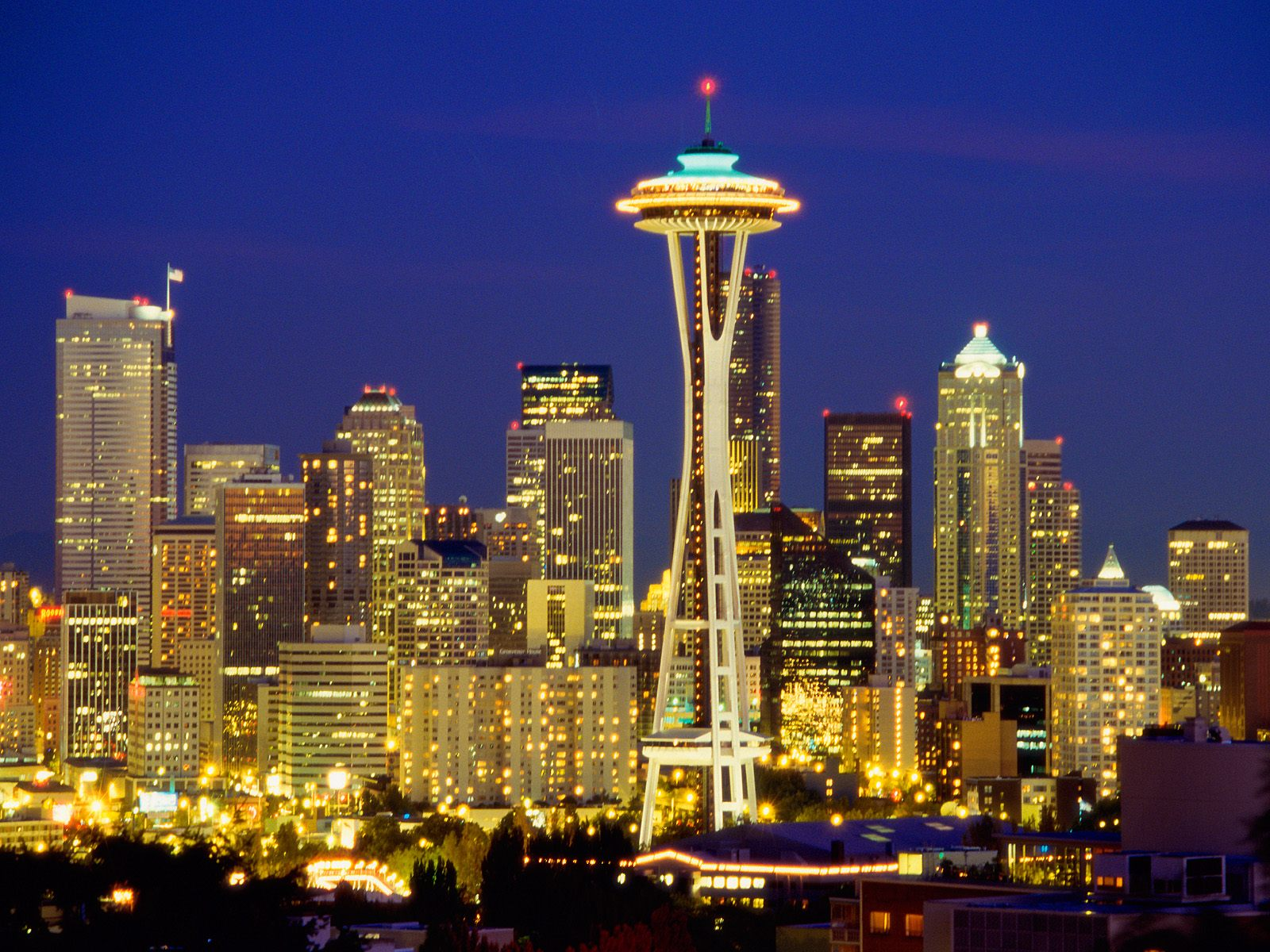 Seattle = tourist attraction! Join us there.