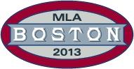 Boston logo for MLA 2013