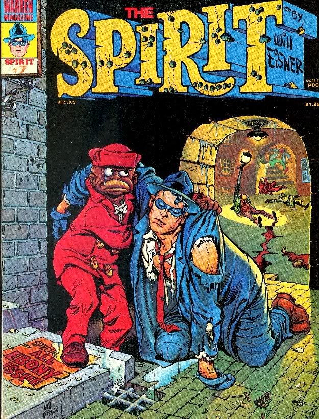 The Spirit #7 (Warren Publications, April 1975)