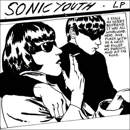 Raymond Pettibon's cover to Sonic Youth's album Goo (1990)